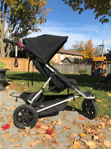 Mountain Buggy +One Versatile Double Stroller Like New