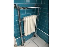 Radiator with towel rail
