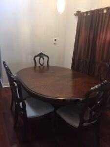 Rosewood dinning table set