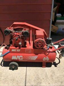 McMillan V Twin Cast Iron 60 L 2.5HP Compressor