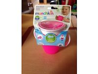 NEW - Munchkin, Miracle 360 Degree Baby Cup, 7 oz (207 ml)