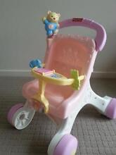 fisher price my first pram and doll set Rose Bay Clarence Area Preview