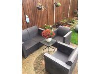 Garden furniture set / no cussions