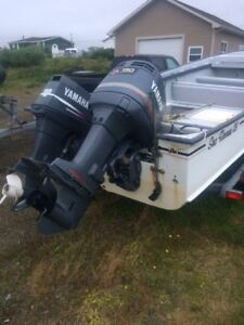 Yamaha outboards and controls $3500 obo