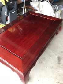 Cherry Wood Coffee Table in excellent condition