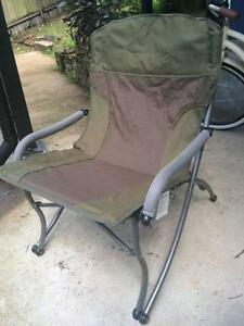 Two Camp Chairs - strong and sturdy. Springwood Blue Mountains Preview