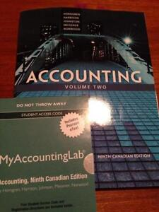 Accounting Volume 2 9th Canadian Edition