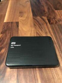 WD My Passport Ultra 1TB - USB 3.0 Portable External Harddrive