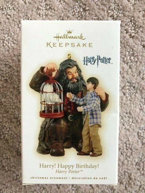 "2009 Harry Potter ""Harry! Happy Birthday!"" Hallmark Keepsake Ornament"