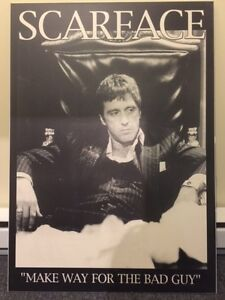 Laminated Large Scarface Posters West Island Greater Montréal image 3