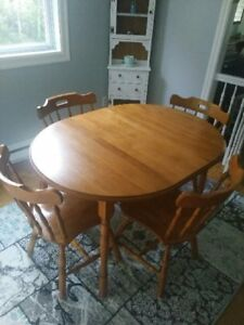 Hardwood Dining Room Set