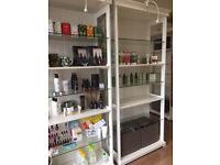 Cream Bookcase
