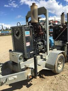 6x6 Power Prime Pump john Deer 6 cyl diesel water pump