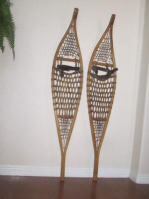 Antique Snowshoes Ojibwe Canadian Excellent Condition
