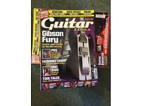 56 issues of Guitar & Bass magazine, August 2002 - November 2008, good condition