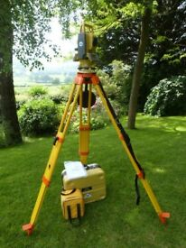 Topcon GTS-105N Total Station complete with tripod and prism