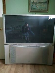 "HITACHI 51"" rear projection television"