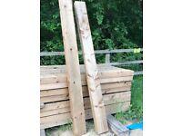 Soft wood sleepers - 2.4m