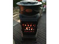 Gas Wood Burning Stove Indoors/Outdoors Relisted due to non collection