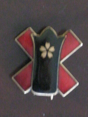 WWlI Japanese Officer Wound/Wounded Badge/Medal/Pin