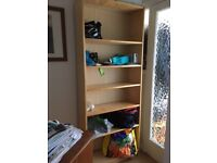 IKEA Billy bookcase with 5 shelves dark birch colour