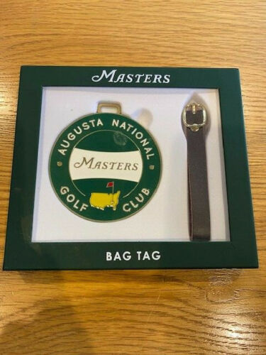 Masters Augusta National Bag Tag