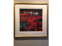 LIMITED EDITION PRINT BY FRANCIS BOAG CONTEMPORARY SCOTTISH ARTIST