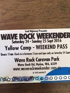 Wave Rock Weekender - Yellow Camp Beaconsfield Fremantle Area Preview
