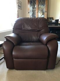 Pair of G Plan Electric Reclining Armchairs