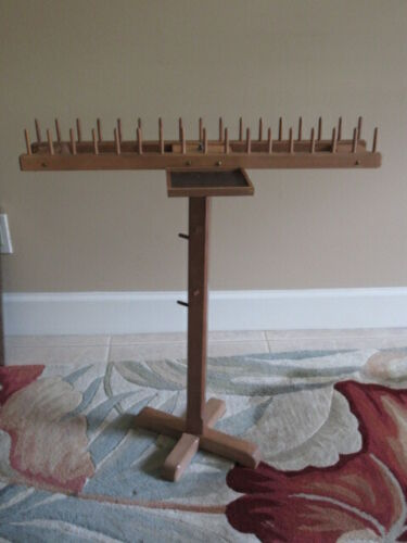Handcrafted Portable Needlepoint/Embroidery Thread Stand