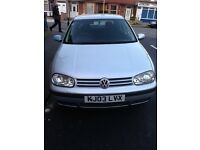 Vw golf 1 owner from new