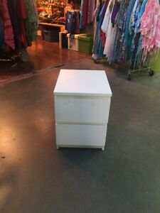 Pre-Assembled IKEA MALM SideTable/Dresser Drawers for Sale
