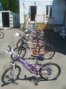 Rebuilt bikes all sizes and types