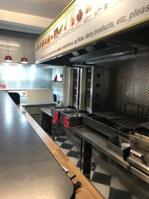 Shop (Grill Take Away Restaurant) with a 3-bedroom flat for sale
