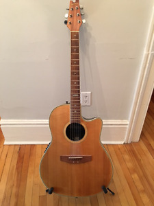 Ovation Applause AE-138 acoustic/electric guitar