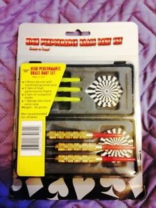 Brand New High-Performance Brass Dart Set
