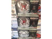 Navigator Drone/Quadcopter/Ufo With HD Video Camera Sd card/Usb 6 Channel 2.4ghz