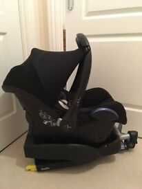 Maxi-cosi easy fix base and Cabrio fix car seat - happy to sell base without seat