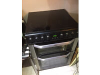 Electric Double Oven Induction hob