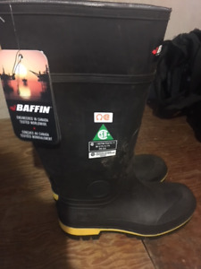 BAFFIN INDUSTRIAL BOOTS - BRAND NEW!