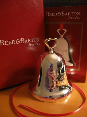 Reed & Barton Annual Tarnish Free Silverplated 2012 CHRISTMAS BELL Ornament