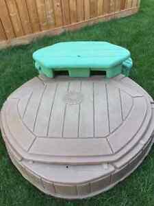 Sandbox-Naturally playful de step2/ Carré de sable