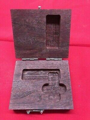 Starrett 916 Wood Case For 20 Master Precision Square 1-12 In Stock