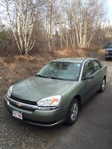 04 Chevy Malibu 113,000KM Reduced Open To Offers