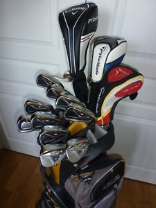 Ensemble de golf taylormade R9, callaway optiforce presque neuf