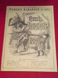 PUNCH Almanack 1882 (Reproduction)