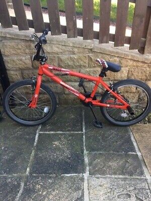 """XRated BMX Red & Black  20"""" Stunt Pegs Collection Thackley, BD10"""