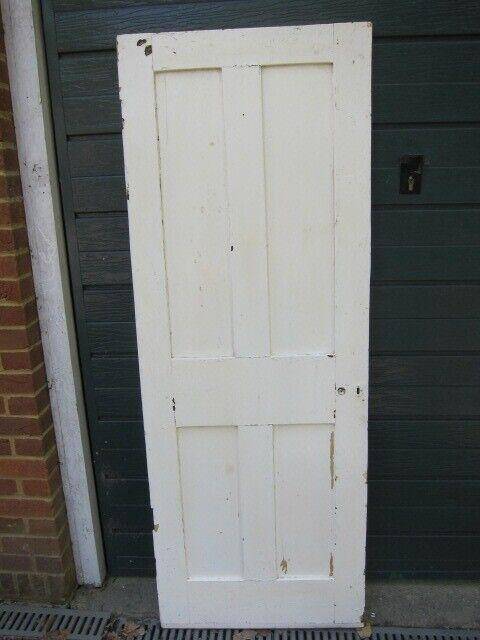 Solid Wood 4 Panel Door 70 X 35 X 190 Cm In Windlesham Surrey Gumtree