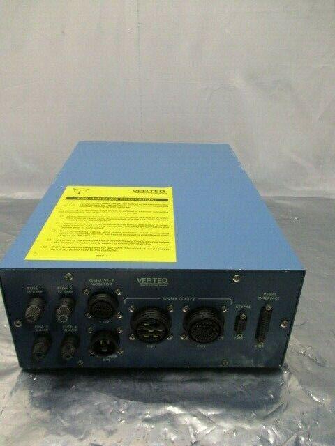 Verteq 1600-55M, 1600 Old Style Controller for SRD, 1071649.1R, 322071