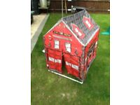 Fire station pop up tent for toddlers